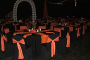 Blue Naartjie Teambuilding - Decor Services, example with red