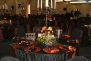 Blue Naartjie Teambuilding - Decor Services, with centre piece option