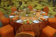 Blue Naartjie Teambuilding - Decor Services, example with orange
