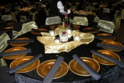 Blue Naartjie Teambuilding - Decor Services, table settings