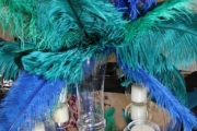 Blue Naartjie Teambuilding - Decor Services, peacock theme