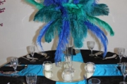Blue Naartjie Teambuilding - Decor Services, peacock theme 5