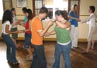 Blue Naartjie Teambuilding - dancing