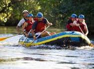 Blue Naartjie Teambuilding - water rafting 2
