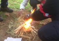 Blue Naartjie Teambuilding - Fire