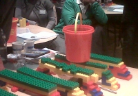 Blue Naartjie Teambuilding - Lego construction