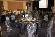Blue Naartjie Teambuilding - Decor Services, example black and silver 2