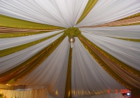 Blue Naartjie Teambuilding - Draping, white draping example