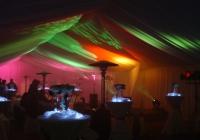 Blue Naartjie Teambuilding - Light and AV, green, orange lights