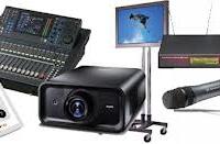 Blue Naartjie Teambuilding - Light and AV equipment