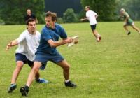 Blue Naartjie Teambuilding - Frisbee