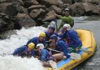 Blue Naartjie Teambuilding - water rafting 3