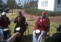 Blue Naartjie Teambuilding - Drumming